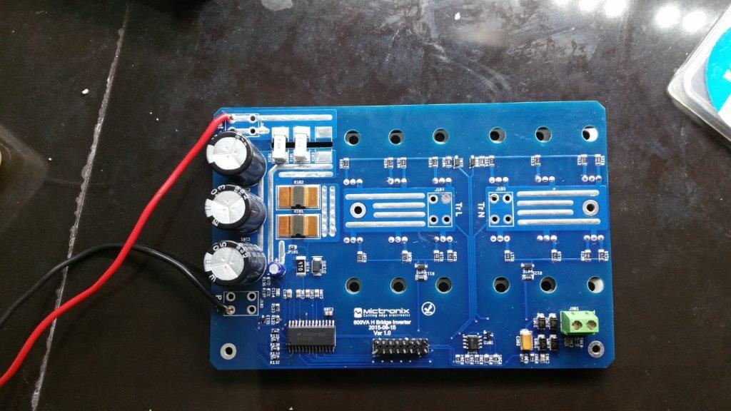 600VA Inverter Design, PID Controller