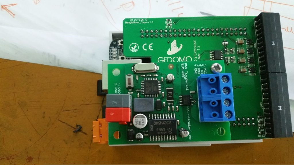 Ethernet based Home Automation Controller