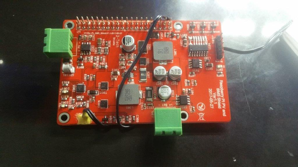 Raspberry Pi Battery back up and BMS Shield